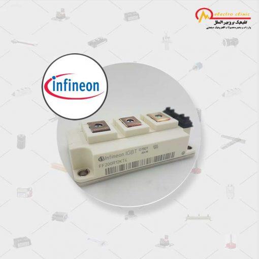 آی جی بی تی دوبل 100 آمپر 1200 ولت فست INFINEON FF100R12KS4 اینفنیون