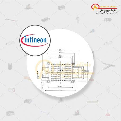 آی جی بی تی هفت تایی 10 آمپر 1200 ولت INFINEON FP10R12W1T4 اینفنیون