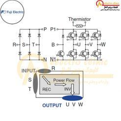 آی جی بی تی 7MBR25VP120-50 7MBR35VP120-50 7MBR50VP060-50 7MBR50VP120-50 7MBR75VP060-50 7MBR100VP060- ساخت شرکت فوجی الکتریک (Fuji Electric)