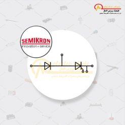 ماژول تریستور دیود 106 آمپر 1600 ولت SKKH 106/16 E SEMIKRON