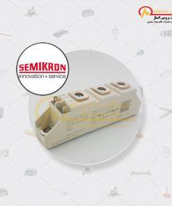 تریستور دوبل 106 آمپر 1600 ولت SKKT 106/16 E SEMIKRON