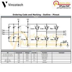 آی جی بی تی P840 دارای جریان 15 آمپر و ولتاژ 1200 ولت ساخت شرکت وینکوتچ (Vincotech) آلمان
