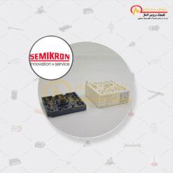 آی جی بی تی هفت تایی 8 آمپر 1200 ولت SKiiP 11NAB126V1 سمیکرون (SEMIKRON) SKiiP 11AC12T4V1